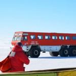 IVAN, el autobus que nos lleva hasta McMurdo.