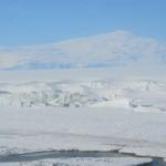 Monte Terror y rotura de la plataforma helada.