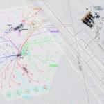 Imagen aerea de la zona donde se localiza IceCube.