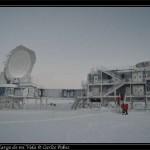 South Pole Telescope el dia de puertas abiertas.