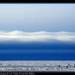 Nubes un tanto amenazantes en el horizonte.