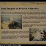 Poder estudiar el Erebus tiene que ser impresionante.