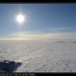ARO con el Sol unos 14 grados sobre el horizonte.