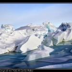 Caos esculpido por la presion del hielo.