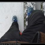 Mi ultima pisada sobre la Antartida.