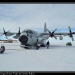 El LC-130 ya en McMurdo.