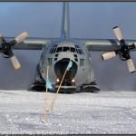 Hercules LC-130 impresionante.