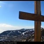 Cruz en la cima de Ob Hill.