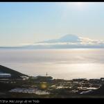 Monte Discovery y bahía de McMurdo.