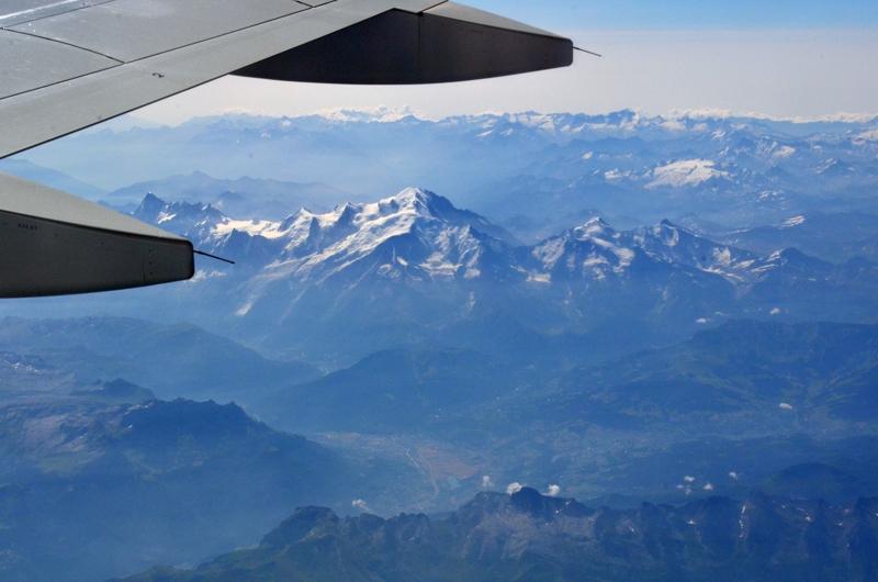 Y el Mont Blanc!