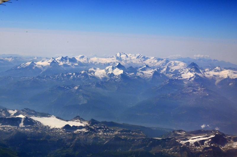 Y el Monte Rosa! Alguien localiza el Cervino?