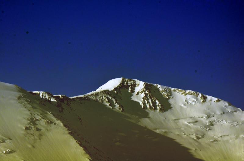 Zoom sobre la cumbre.