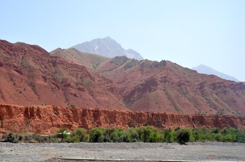 Gran variedad de paisajes y colores a lo largo del recorrido.