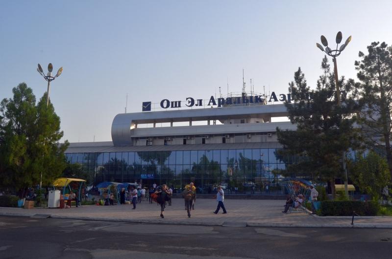 Aeropuerto de Osh.