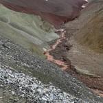 Erosión del terreno.