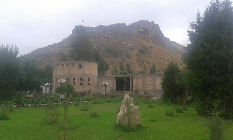 La montaña de Suleiman Too.