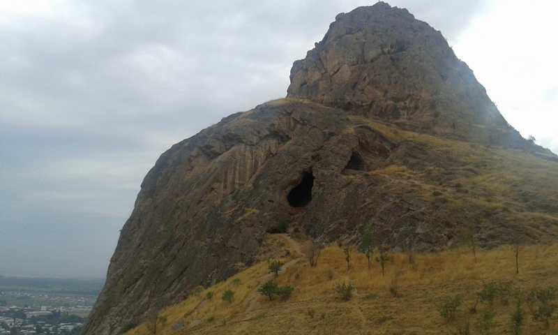 Montaña de Suleiman.