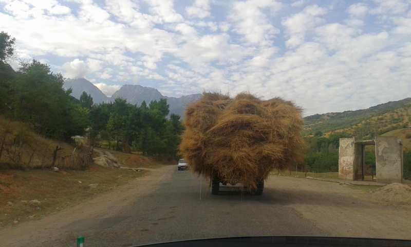 Camino a Arslanbob.