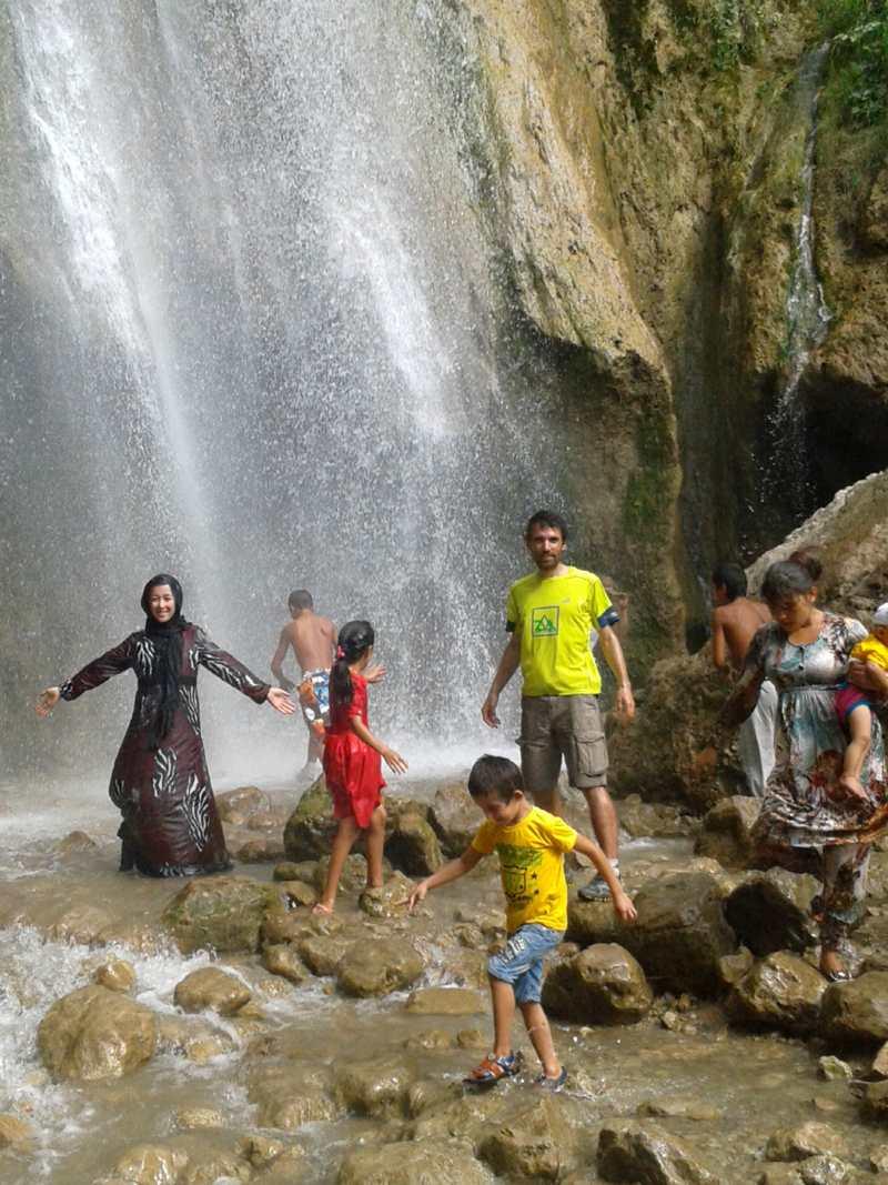 Cascada en Arslanbob