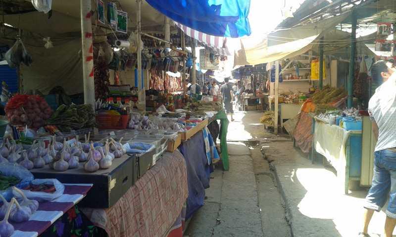 Mercado de Jalalabad.