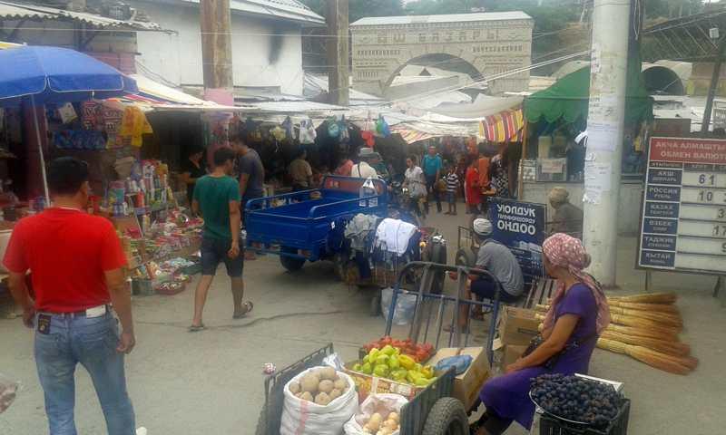 Bazar de Osh.