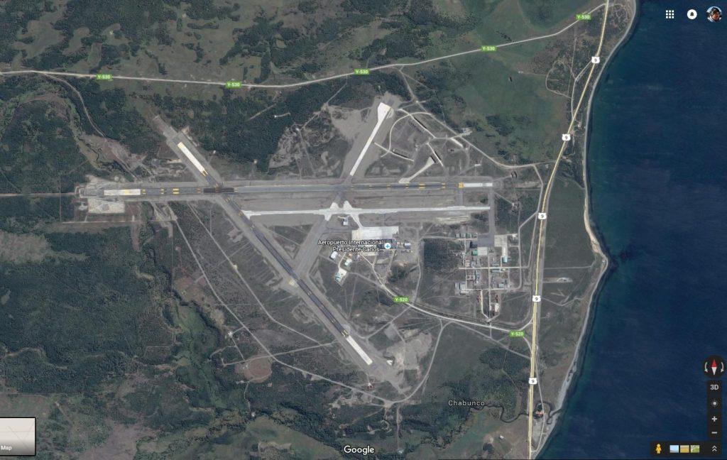 Aeropuerto de Punta Arenas.